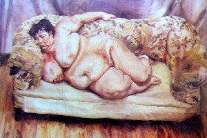 painting by Lucian Freud