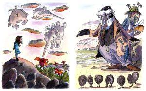 illustrator Tony Ross's artwork