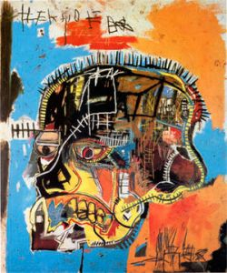 painting by basquiat