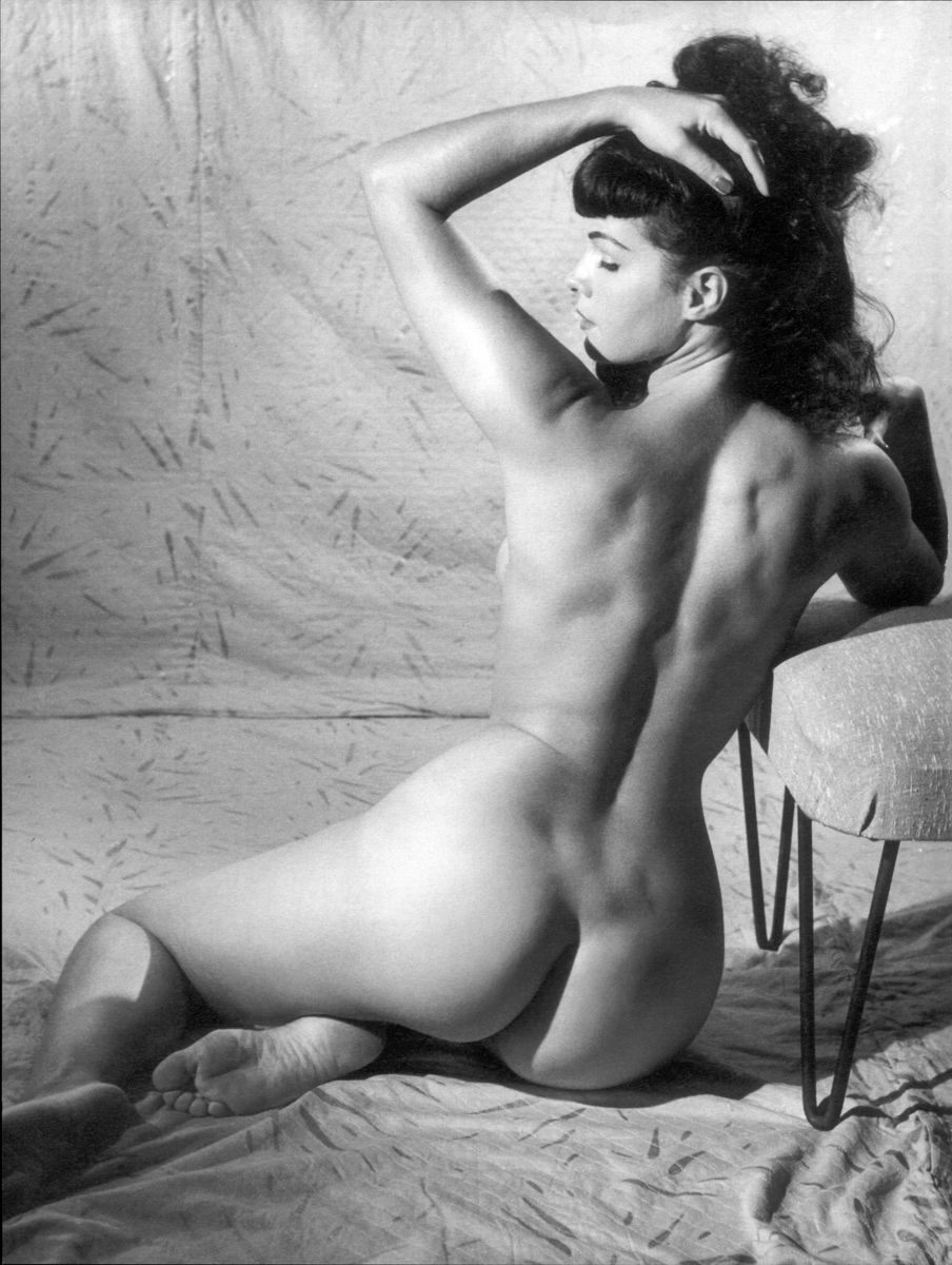 Nude Betty Page The notorious Betty page died on this date in 2008 at the ...