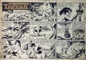 Tarzan Comic Strip