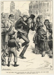 John Leech illustration from a Christmas Carol