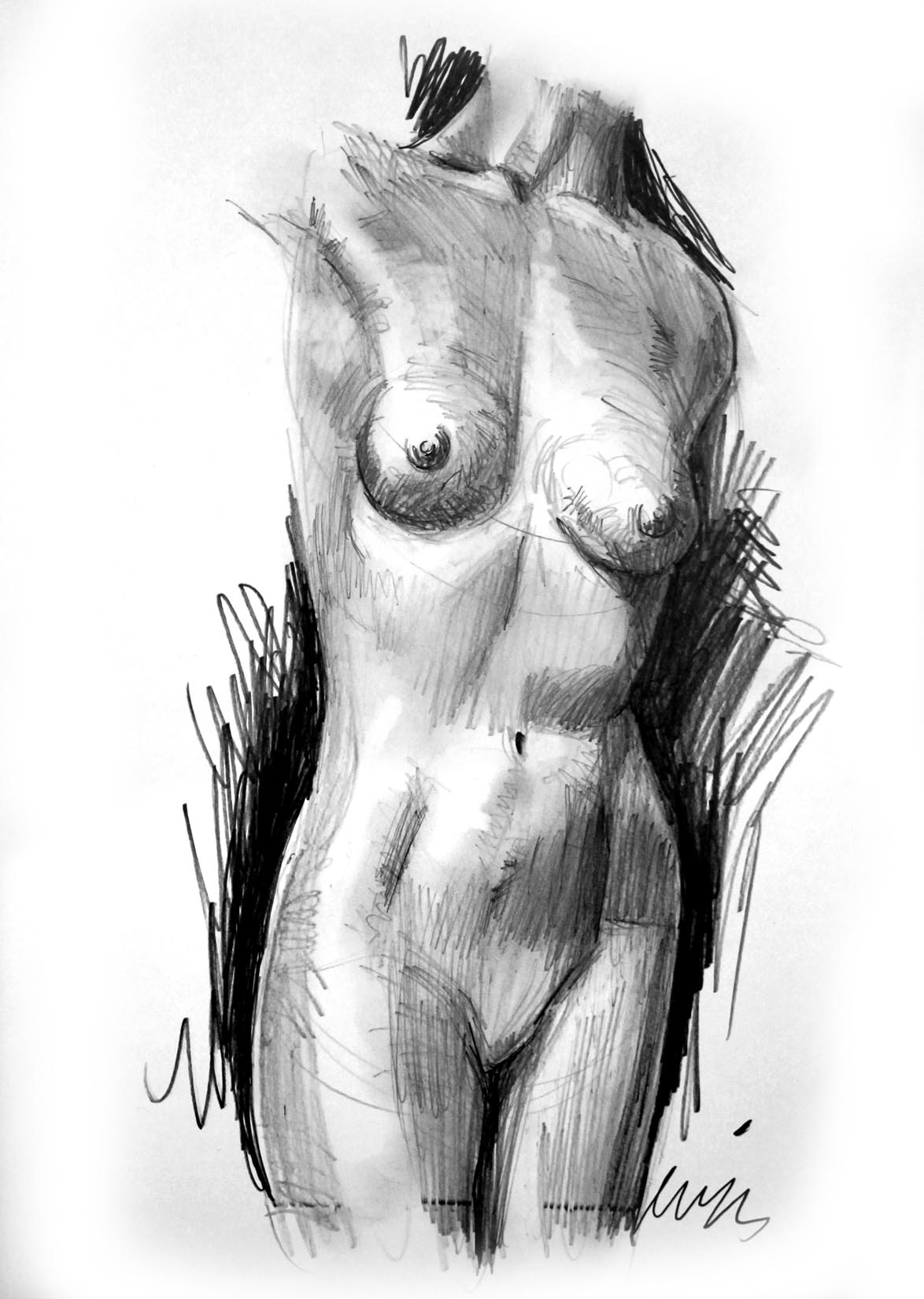 Free nude drawings exploited video