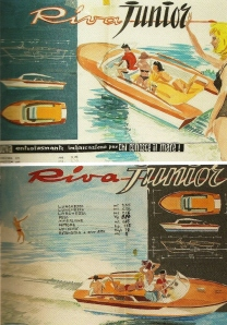 Dryers art used in ads for the Riva Jr.