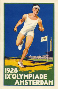 John Wijga one of the designers of the 1928 Olympiad poster