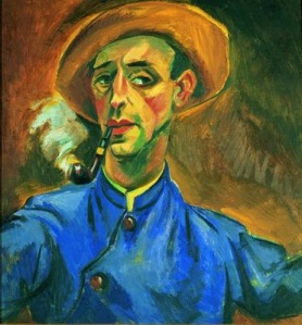self-portrait Max Pechstein