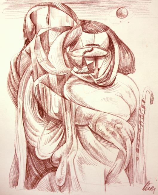 surreal sketch by Lon Levin