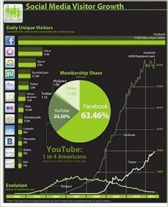 SOCIAL MEDIA GROWTH CHART