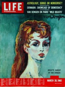 Van Dongen painting of Bridget Bardot