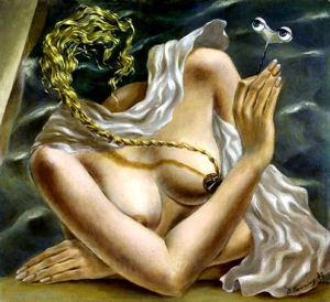 painting by Dorothea Tanning