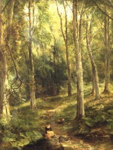 painting by Thomas Creswick