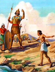 David and Goliath painting