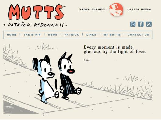 Mutts comic strip