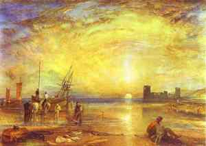 Turner painting of harbor