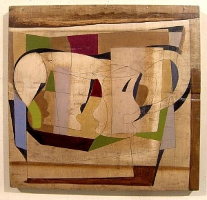 painting by Ben Nicholson