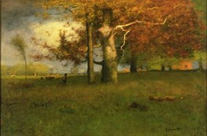 George Inness painting tree