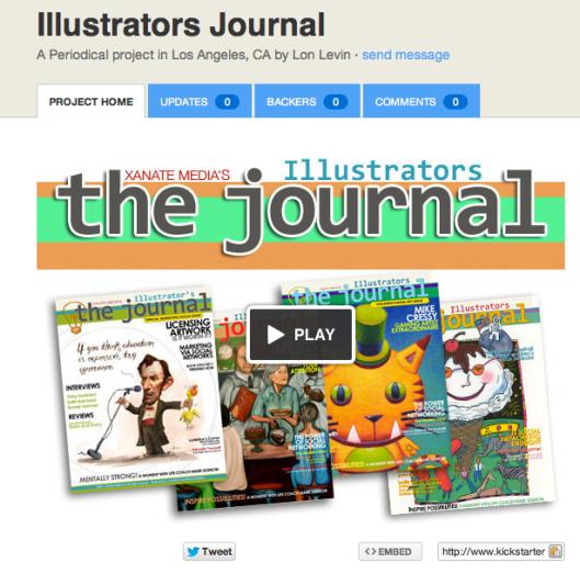 Illustrators Journal Kickstarter Project