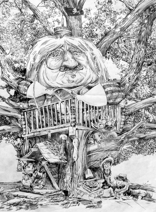 THE MONSTER'S TREEHOUSE