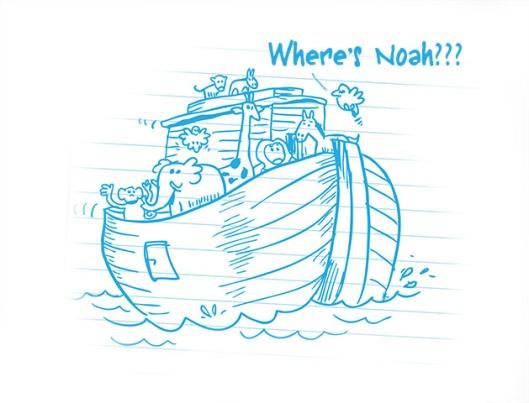 WHERE'S NOAH?