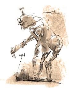 OUR BIG ASS ROBOT