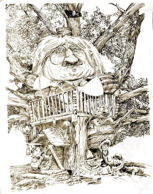 THE MONSTER'S TREEHOUSE copy