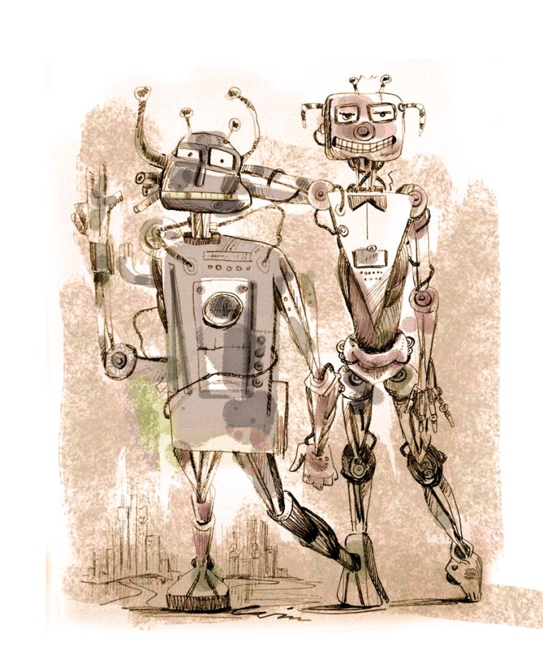 TWO STUPID ROBOTS