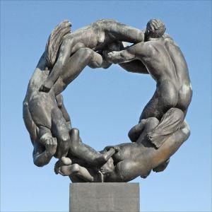 Gustav Vigeland sculpture