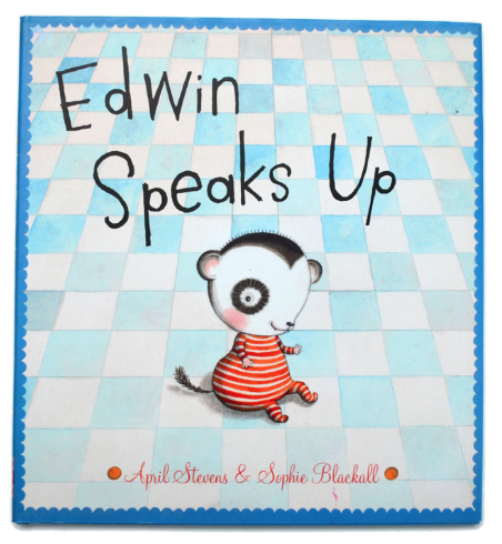 Edwin Speaks Up children's book