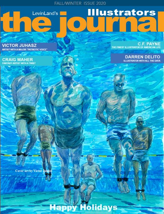 The Illustrators Journal Cover