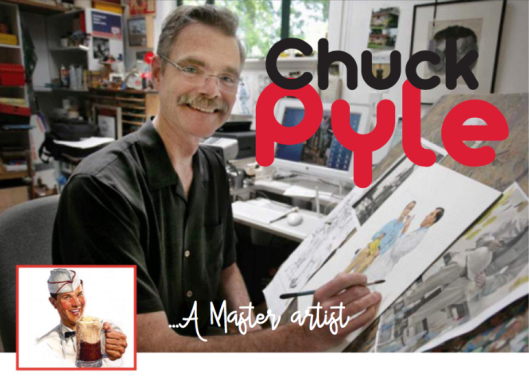 Interview with Illustrator Chuck Pyle